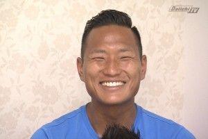 テセ 笑顔