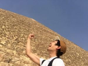 ピラミッド到着
